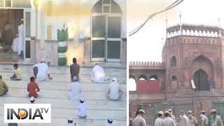 Nation celebrates Eid-Ul-Fitr, Masjids in Delhi to remain closed - INDIATV