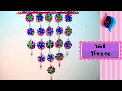 How to make a wallhanging - Paper wall hanging ideas - paper wall hanging crafts