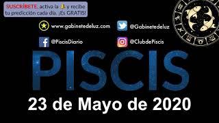 Horóscopo Diario - Piscis - 23 de Mayo de 2020