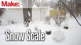 DIY Hacks & How To's: Snow Scale