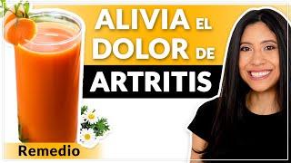 Remedio para Artritis: Jugo para Aliviar el dolor de Articulaciones