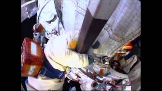 Space Station Crew Conducts Spacewalk