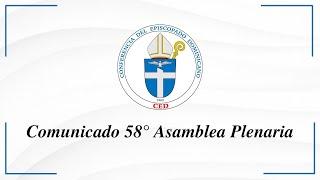 Comunicado fruto de la 58° Asamblea Plenaria CED.