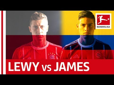 The Battle of the Bayern Superstars: James Rodriguez vs. Robert Lewandowski
