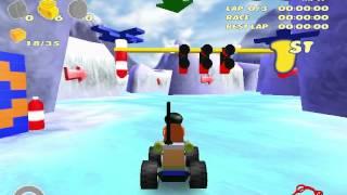 Lego Racers 2 100% Speedrun (1:42:20)