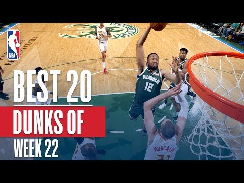connectYoutube - Best 20 Dunks From Week 22 of the NBA Season (LeBron, Dennis Smith Jr and More!)
