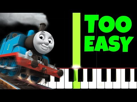 connectYoutube - Thomas The Tank Engine, but it's TOO EASY, I bet 1.000.000$ You Can PLAY THIS!