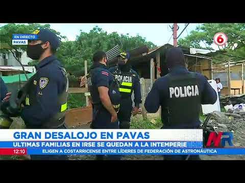 Gran desalojo en Pavas: 150 personas quedarán sin casa este martes