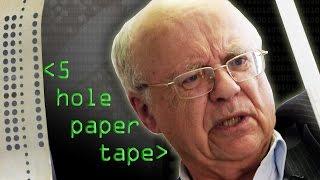 5 Hole Paper Tape - Computerphile