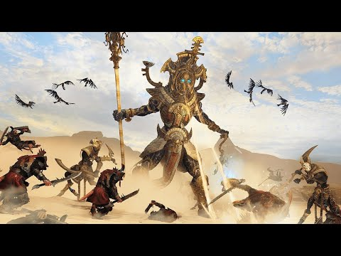 connectYoutube - 6 Minutes of Total War: Warhammer 2 - Rise of the Tomb Kings Gameplay