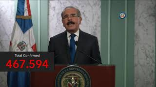 Ante CoronaVirus Danilo Medina habla al pueblo Dominicano