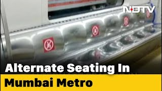 Alternate Seats In Mumbai Metro Trains To Be Empty For Social Distancing - NDTV