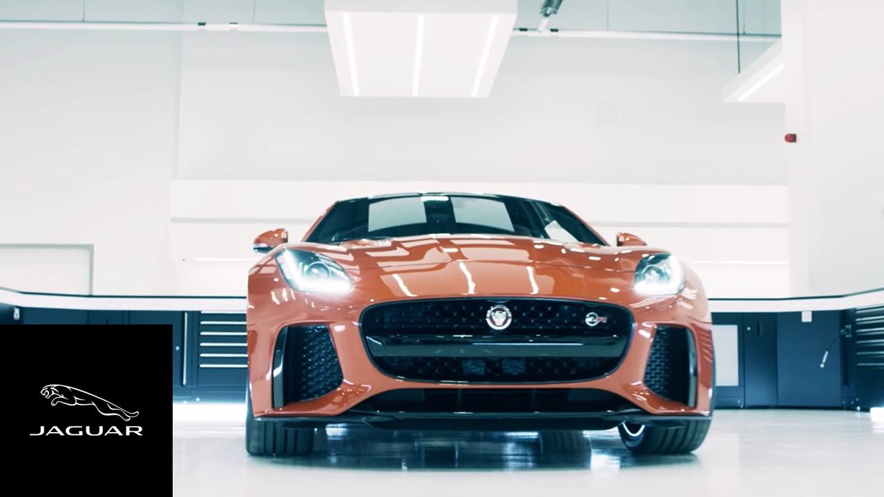 Jaguar | The 200mph F-TYPE SVR