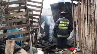 Vivienda se incendió en El Progreso
