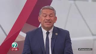 #Telediario | Entrevista a Juan Pazos, Dir. Agencia Nacional de Tránsito