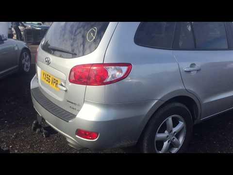 Hyundai Santa Fe 2006 m dalys