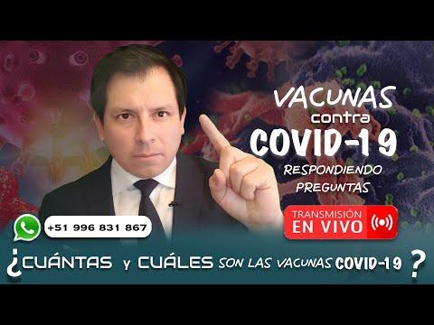 VACUNAS CONTRA LA ENFERMEDAD COVID-19 - RESPONDIENDO PREGUNTAS