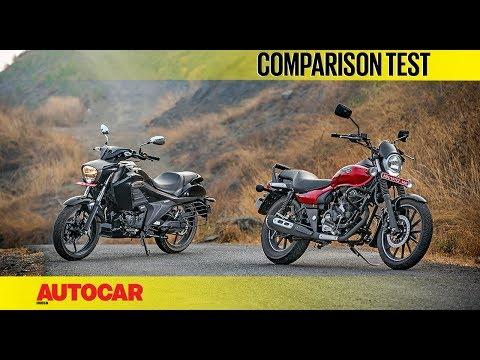 Bajaj Avenger Street 180 vs Suzuki Intruder ABS | Comparison | Autocar India