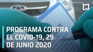 Preguntas y respuestas en vivo, Contra el COVID-19 #TelevisaTeAcompaña I 29 de Junio 2020