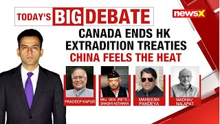 Canada ends HK extradition treaties | China feels the heat | NewsX - NEWSXLIVE