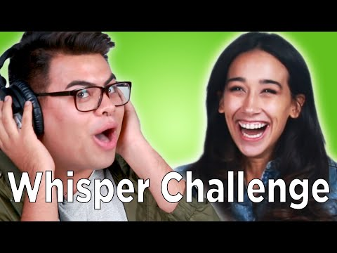 connectYoutube - Strangers Play The Whisper Challenge