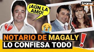 """Alfredo Zambrano sobre MAGALY MEDINA: """"Aún siento amor por ella, no le fui infiel"""""""