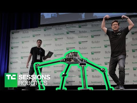 DEMO: NABi and ALPHRED (Dennis Hong, UCLA)   TC Sessions Robotics 2018