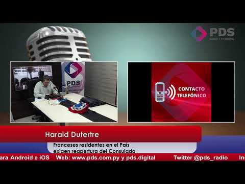 Entrevista - Harald Dutertre - Franceses residentes en el País exigen reapertura del Consulado