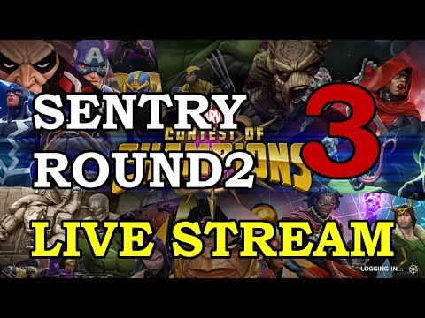 connectYoutube - Sentry 4-Star Arena Round 2 - Part 3   Marvel Contest of Champions Live Stream