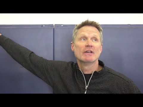 connectYoutube - Steve Kerr discusses Jordan Bell's injury and what it might mean for Kevon Looney