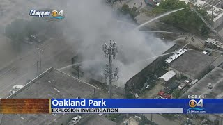 Explosion And Fire Heavily Damages Oakland Park Styrofoam Manufacturing Business