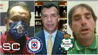 CRUZ AZUL VS SANTOS. Se calienta la previa de la final del Guardianes 2021 de Liga MX   SportsCenter