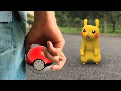 connectYoutube - Pokemon GO In REAL LIFE