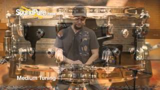 Mapex 6x14 Black Panther Wraith Matt Halpern Snare Drum - Quick n' Dirty