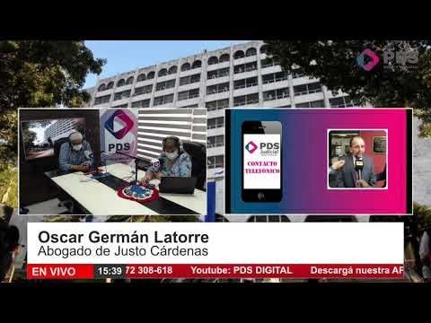 Entrevista- Oscar Germán Latorre- Abogado de Justo Cárdenas