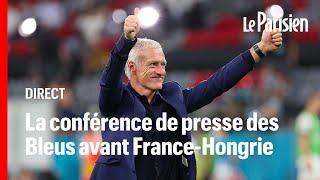 ???? EN DIRECT | Didier Deschamps et Hugo Lloris s'expriment à la veille de France-Hongrie