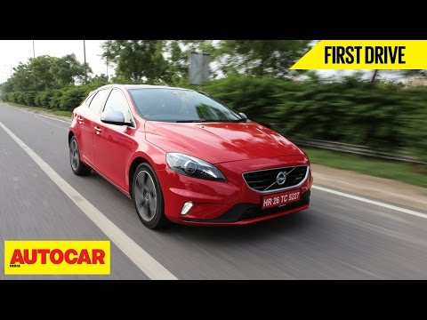 Volvo V40 | First Drive | Autocar India