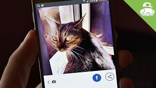 When AI meets Art: Prisma photo filters