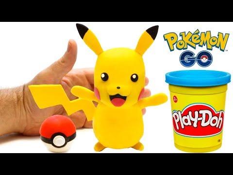 connectYoutube - Pokemon Go Pikachu Stop Motion animation Play Doh video