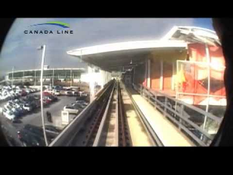 SkyTrain Canada Line Vancouver Airport Station