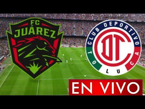 Donde ver Juárez vs. Toluca en vivo, por la Jornada 1, Liga MX 2021
