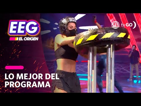 EEG El Origen: Ducelia Echevarría tuvo un percance durante competencia con Paloma Fiuza