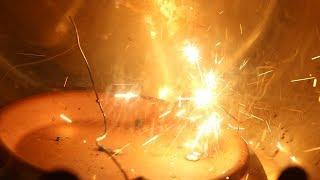 Burning Steel Wool In Oxygen