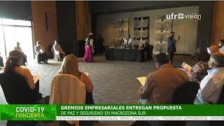 Gremios empresariales entregan propuesta para acuerdo por la paz en La Araucanía  ESPECIAL COVID-19