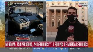 MENDOZA: CONTINÚAN LAS FIESTAS CLANDESTINAS EN PLENA PANDEMIA