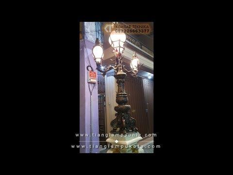 Tiang Lampu Surabaya Gaya Eropa