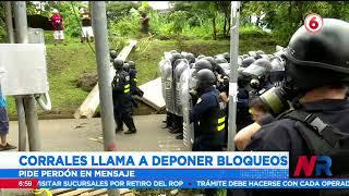 José Miguel Corrales pide deponer las protestas