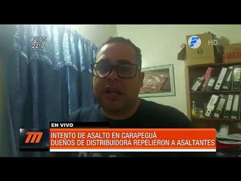 Frustran asalto a distribuidora de lácteos en Carapeguá
