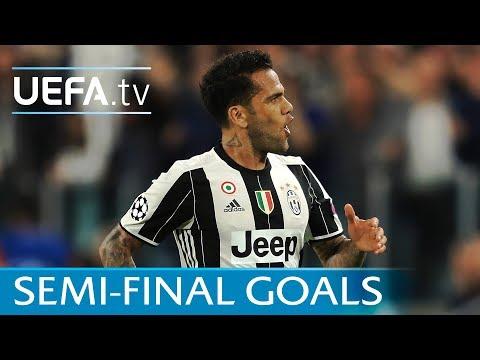 Messi, Robben, Raúl: Ten great semi-final goals