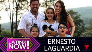 En exclusiva: Ernesto Laguardia abre las puertas de su hogar | Latinx Now! | Entretenimiento